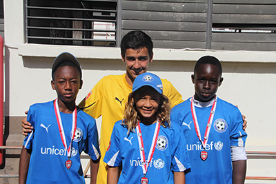 Football Holiday Camp 2013 - age group 10-14B