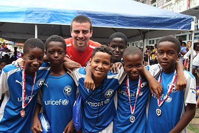 THE BREWSTER TRUST, football charity, Barbados