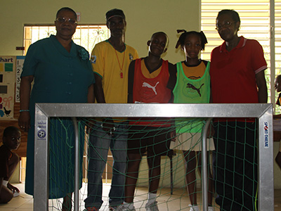 THE BREWSTER TRUST, football, Barbados