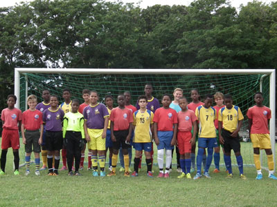 THE BREWSTER TRUST, football charity Barbados